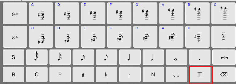 add chord symbols into songs